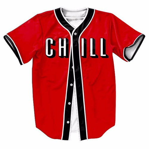 Chill Men's Baseball Jersey