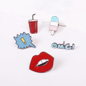 Yass Queen Enamel Pins
