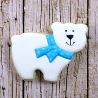 Polar Bear Sugar Cookie