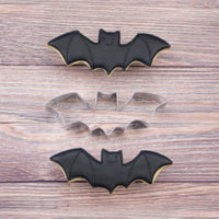 Bat Sugar Cookies with Bat Cookie Cutter