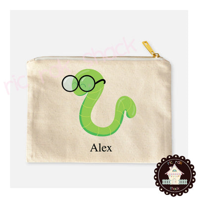 Canvas Pencil Bag Alex