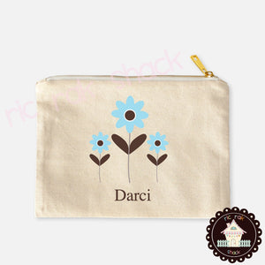 Canvas Pencil Bag Darci