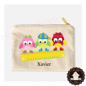 Canvas Pencil Bag Xavier