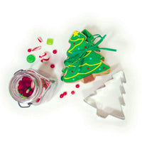 Christmas Candy with Cookie Cutter and Sugar Cookies