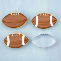 Football Cookies and Football Cookie Cutter