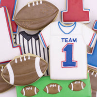 Football Party Cookies