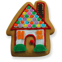 Gingerbread House Decorated with Candy