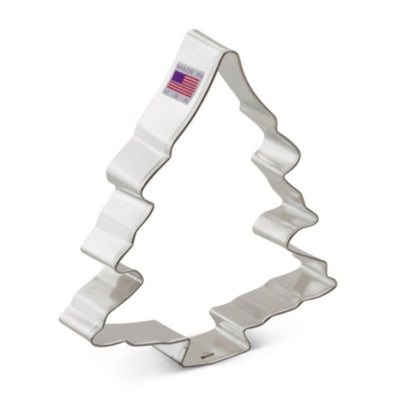Snow Covered Christmas Tree Cookie Cutter