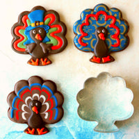 Turkey Thanksgiving Cookies