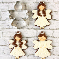 Angel with Halo Sugar Cookies