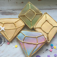 Gold Jewel Sugar Cookies