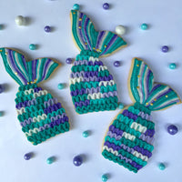 Green and Blue Mermaid Tails