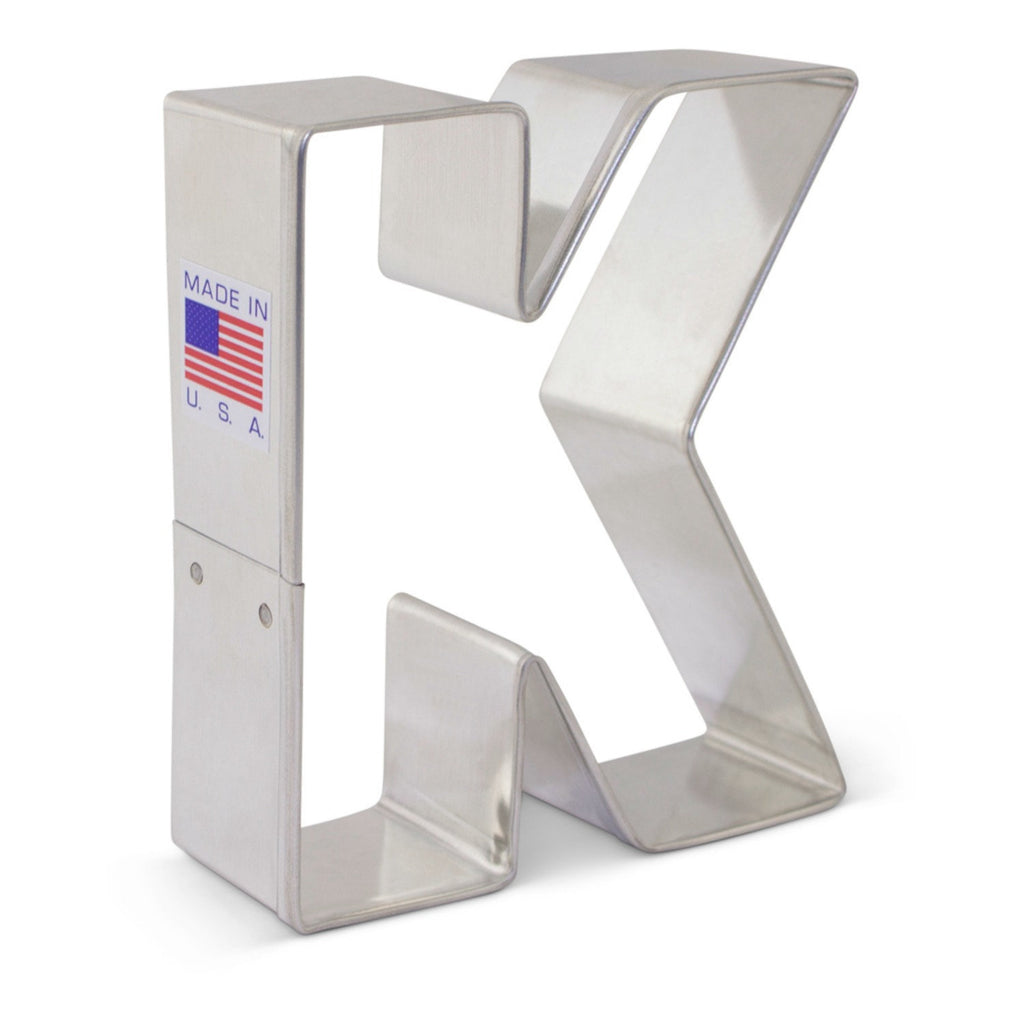 Letter K Cookie Cutter