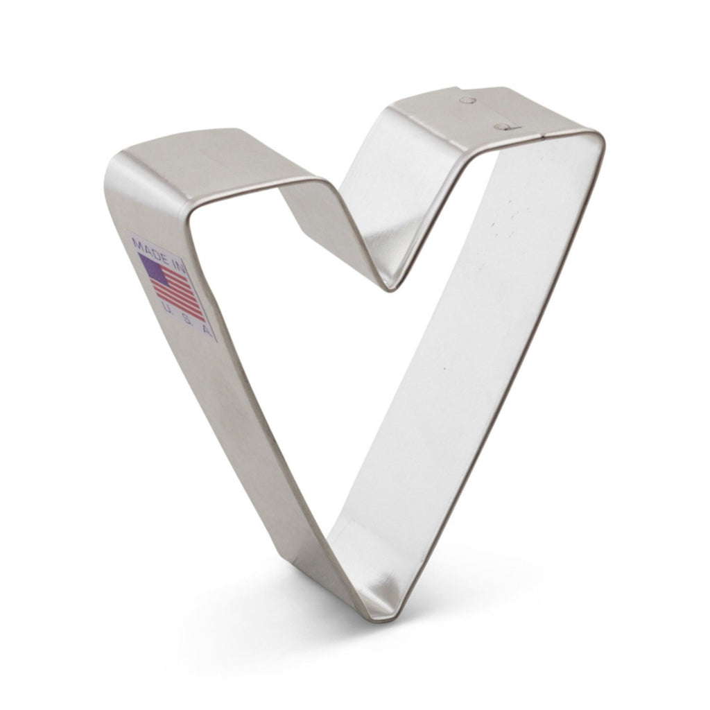 Letter V Cookie Cutter