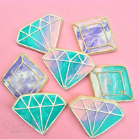 Frosted Jewel Sugar Cookies