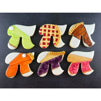Variety of Pie Sugar Cookies