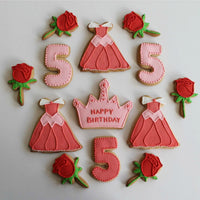 5th Birthday Sugar Cookie Treats
