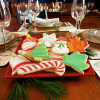 Christmas Cookies on Plate for Santa