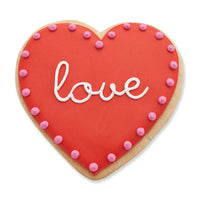 Love Valentines Day Cookie
