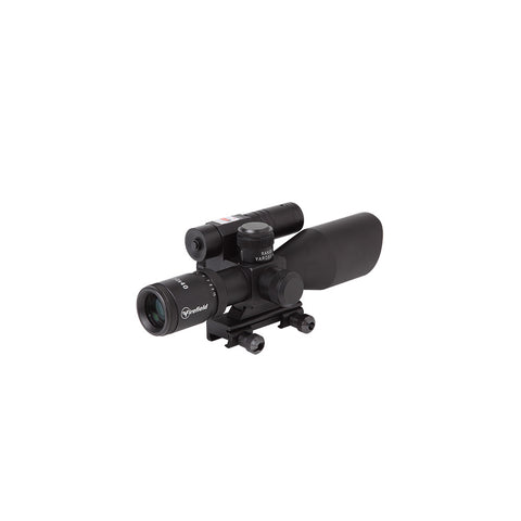 2.5-10x40 w/ Green Laser Riflescope