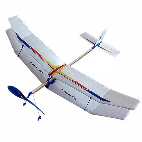 Rubber Band DIY Airplane