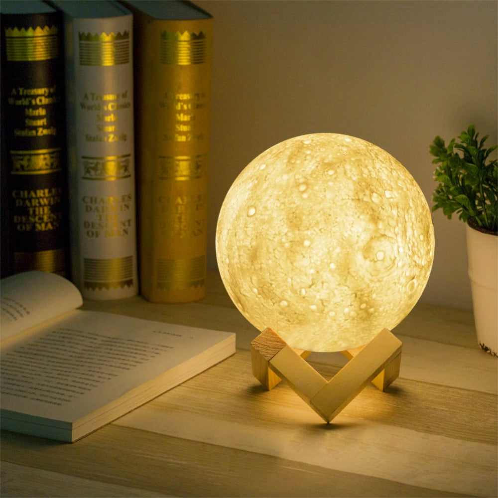 Live-moon 3D LED Light Creative Eccentric Unique