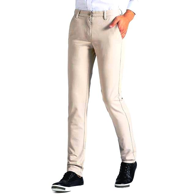(M) Light Beige Pants