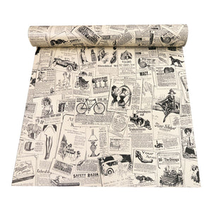 Retro Stereo Decal Self-Adhesive Roll