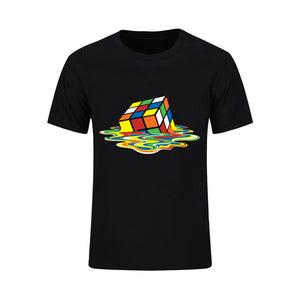 (M) Melting Rubix Shirt