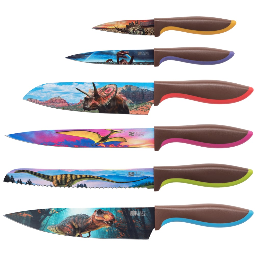 Jurassic Series Six-Piece Knife Set