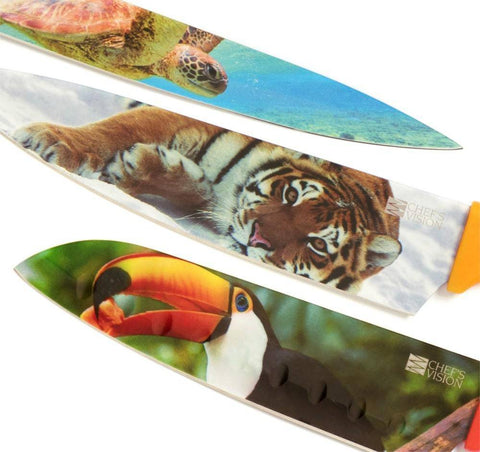 Wildlife Series Six-Piece Knife Set