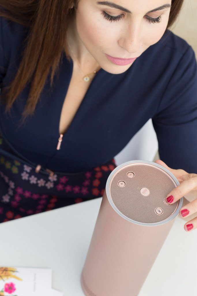 smart pillar speaker