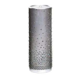 Stellé Audio Pillar x Swarovski Pewter w/ Scattered Crystal Silver Night Partial