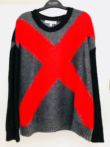 "Elizabeth & James ""X"" Sweater (M)"