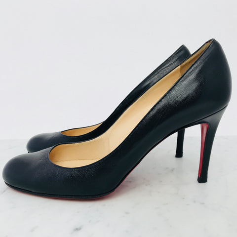 Christian Louboutin Simple Pump, 85mm (size 38.5/ fits 39)