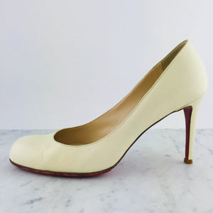 "Christian Louboutin Leather ""Simple Pump"", 100mm (size 39.5)"