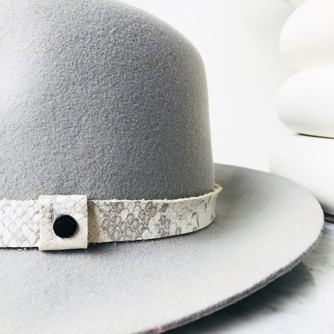 Rag & Bone Floppy Brim Fedora / Grey