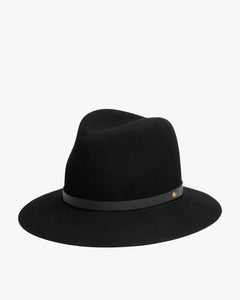 Rag & Bone Floppy Brim Fedora / Black