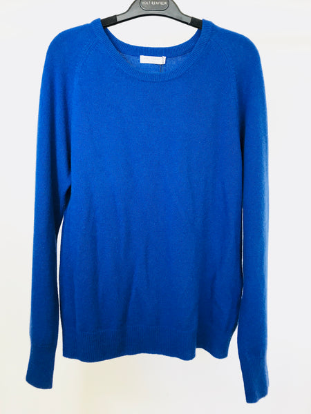 "Equipment ""Sloane"" Royal Blue Cashmere Sweater (M)"