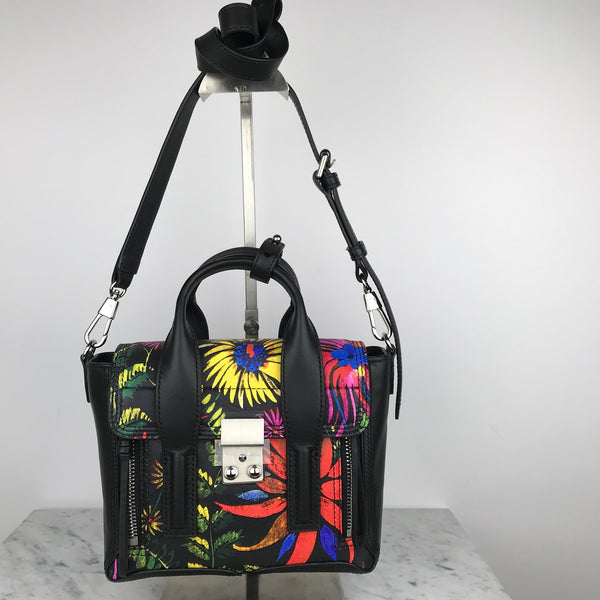 Phillip Lim Limited Edition Print Pashli Mini Satchel