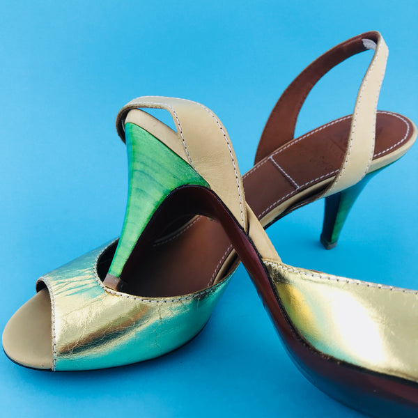 Lanvin Slingback Sandals (size 40 / fit small)