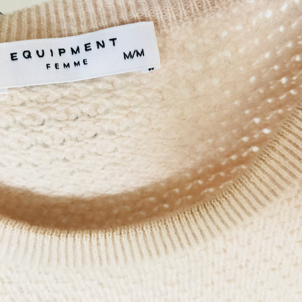 Equipment Wool-Cashmere Sweater (M)