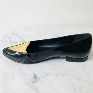 Opening Ceremony Patent Leather/Suede Flats (36)