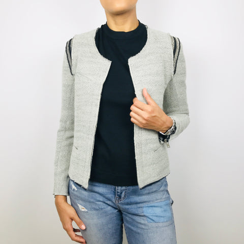 "Iro ""AMINA"" Wool Blazer 