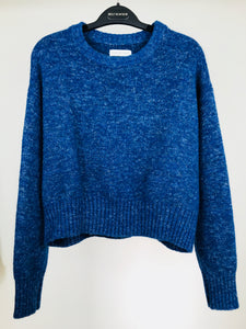 Isabel Marant Étoile, Cropped Blue Sweater (M)