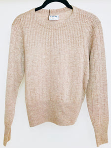 FRAME Pale Taupe Sweater (S)