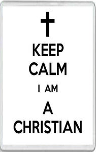 Keep Calm I am a Christian
