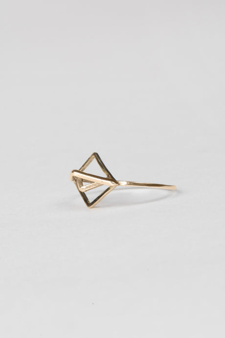 Angle Ring - Gold