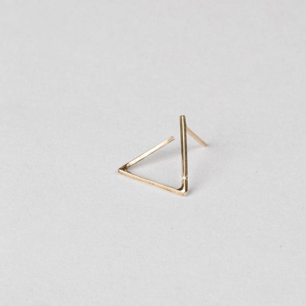 Angle Perspective Stud - Gold