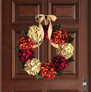 Solid Color Wreath Styles